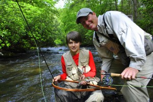 Fly Fishing near Cherokee,